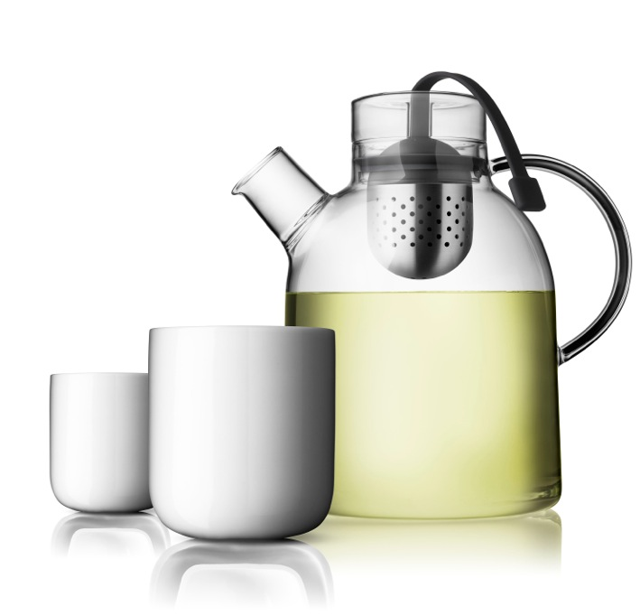 Norm kettle+cups