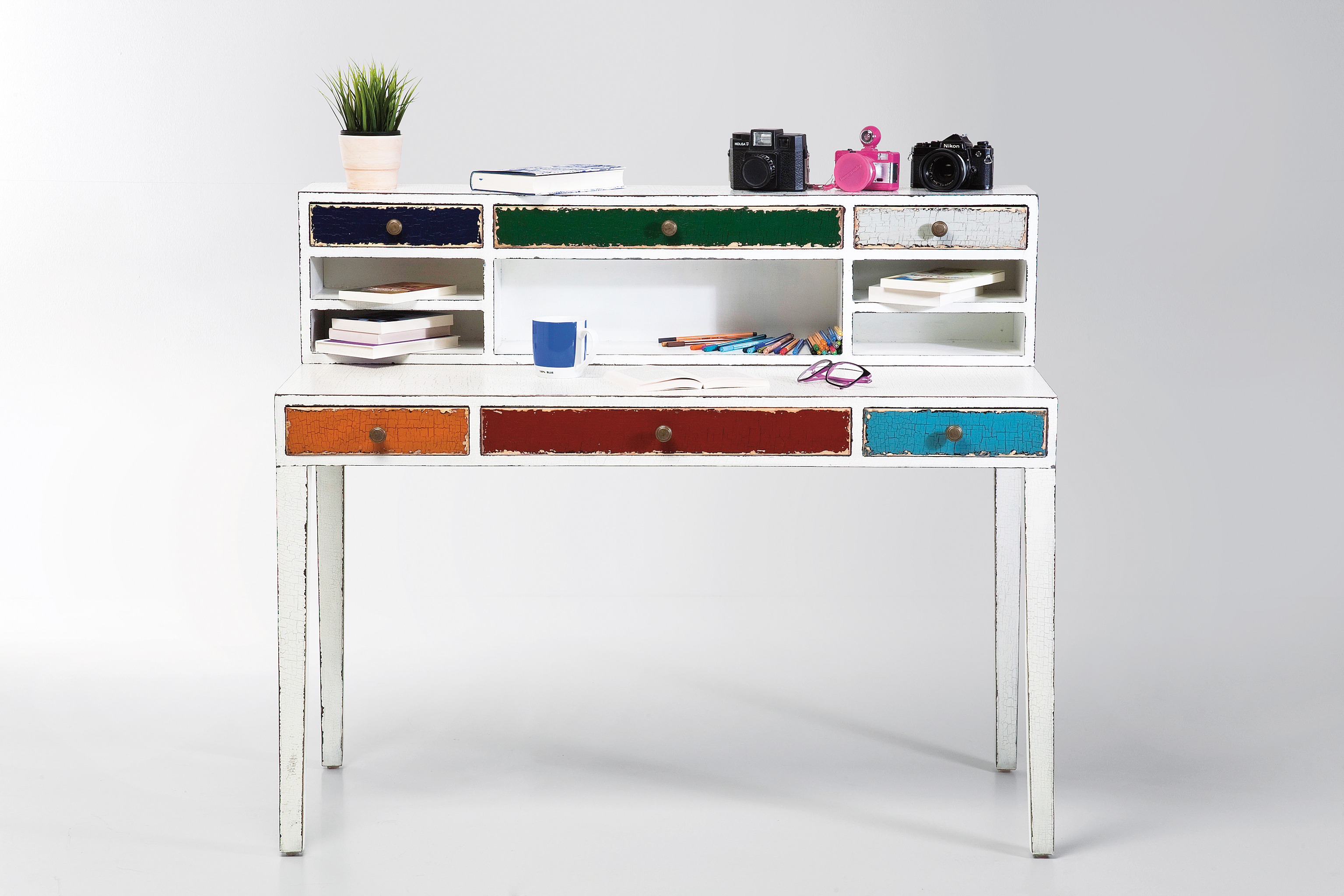 76660 - Desk Halrekin white 1 x 1,2 x 0,55 m 690€ (2)