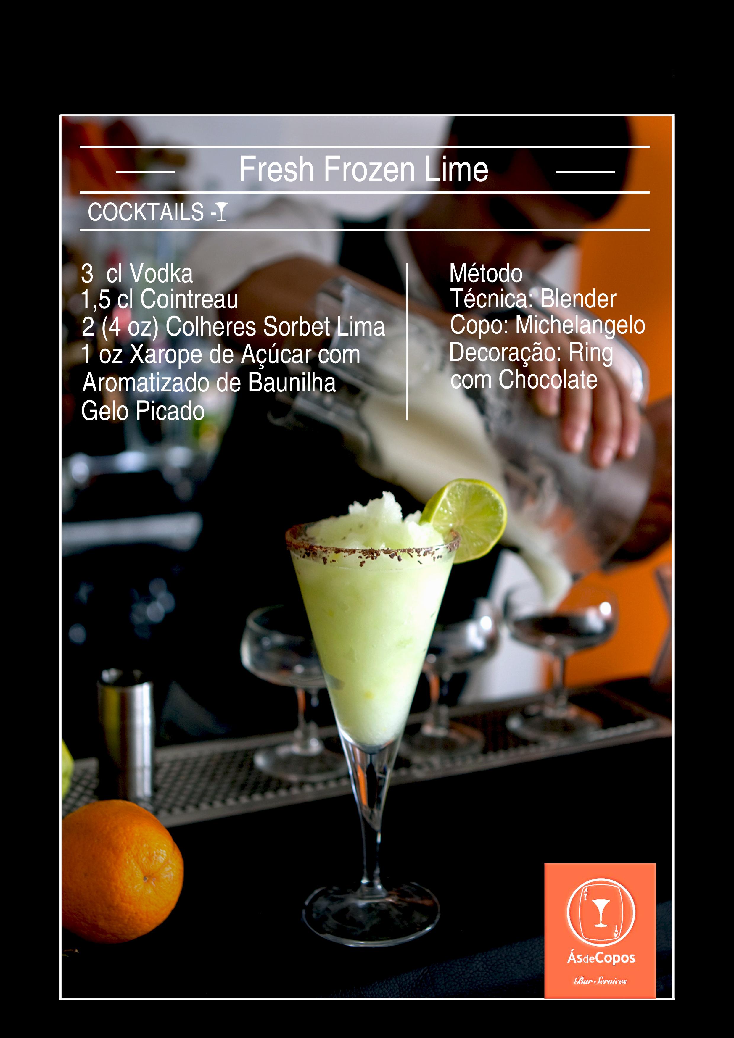 Fresh Frozen lime