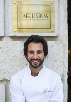 O café Lisboa do chef José Avillez. foto- paulo barata 2013