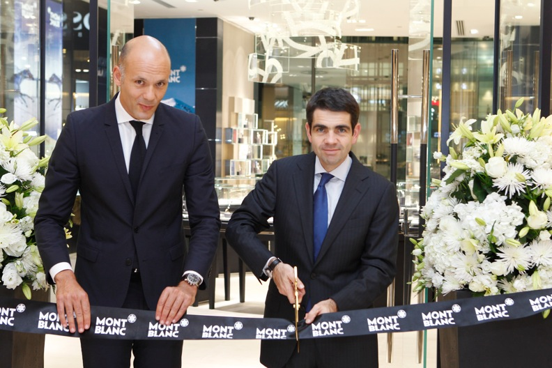 Official Montblanc Opening of The Galleria Boutique Abu Dhabi Nov 2013