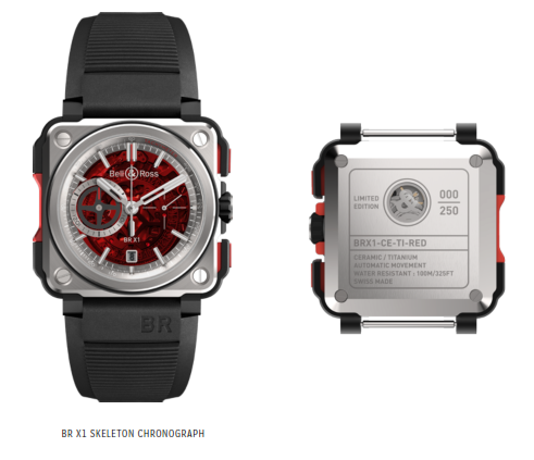 BR-X1 SKELETON CHRONOGRAPH – RED EDITION