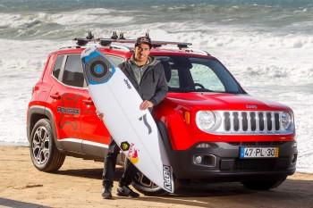 Jeep Renegade e Vasco Ribeiro