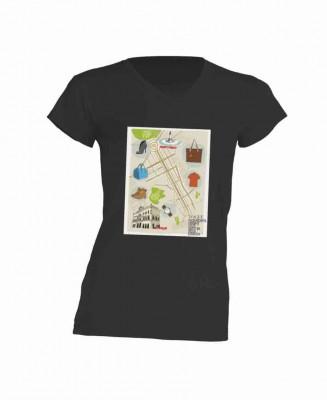 VFNO t-shirt preta