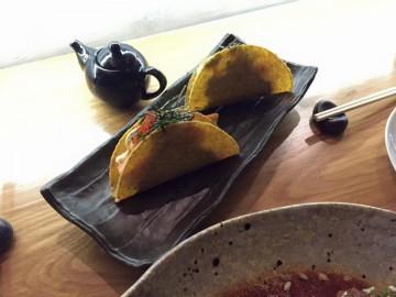 Tacos Sacana, tacos de tártaro de peixe